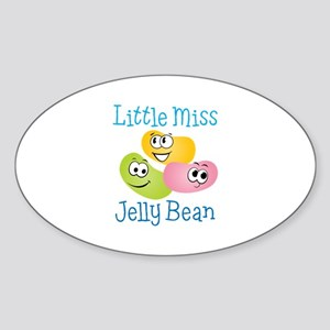 Little Miss Jelly Bean Sticker