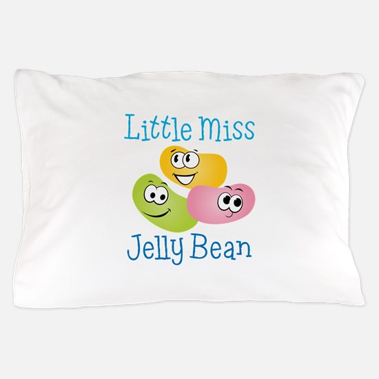 Little Miss Jelly Bean Pillow Case