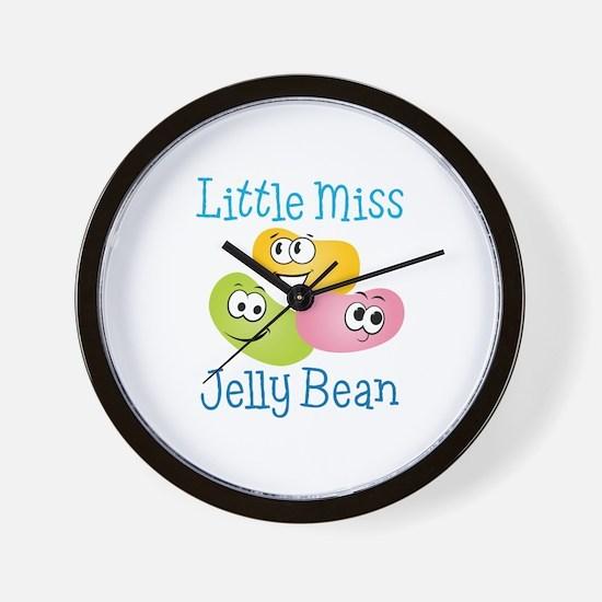 Little Miss Jelly Bean Wall Clock