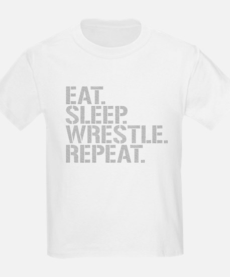 Eat Sleep Wrestle Repeat T-Shirt