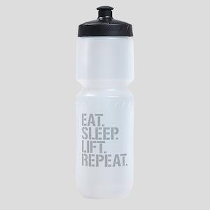 Eat Sleep Lift Repeat Sports Bottle