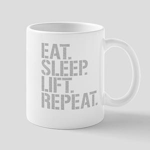 Eat Sleep Lift Repeat Mugs
