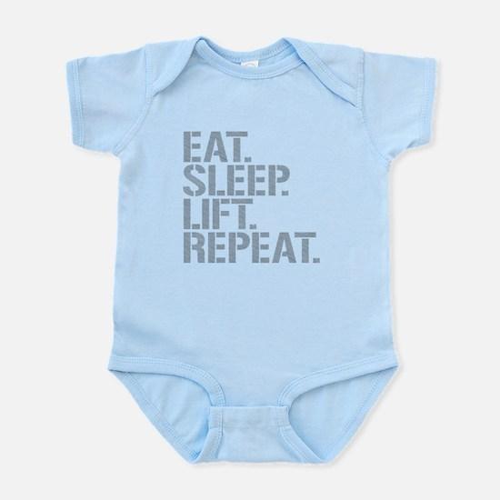 Eat Sleep Lift Repeat Body Suit