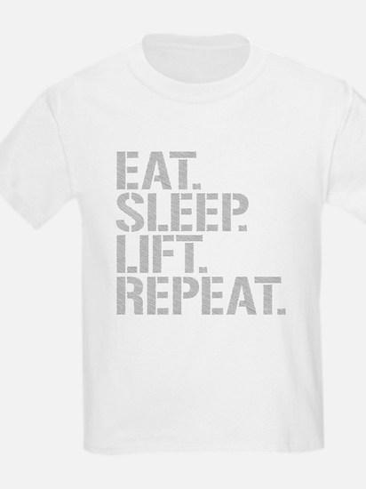 Eat Sleep Lift Repeat T-Shirt