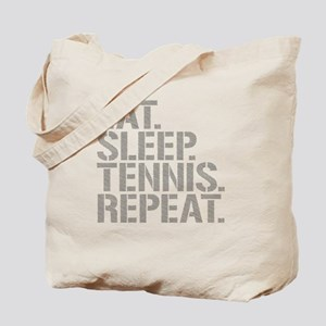 Eat Sleep Tennis Repeat Tote Bag