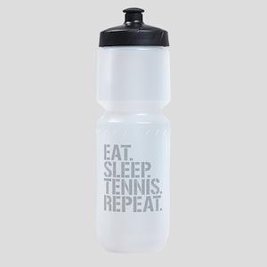Eat Sleep Tennis Repeat Sports Bottle
