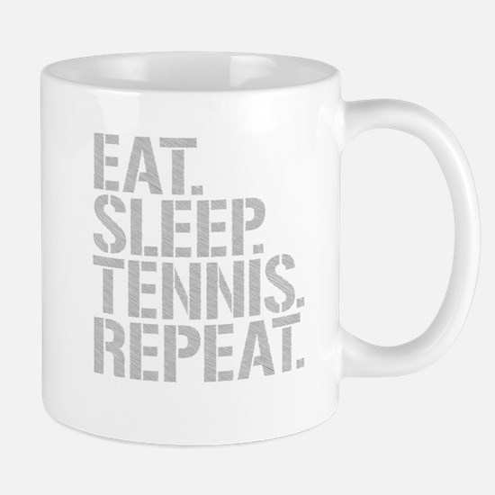 Eat Sleep Tennis Repeat Mugs