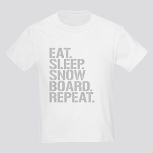Eat Sleep Snowboard Repeat T-Shirt