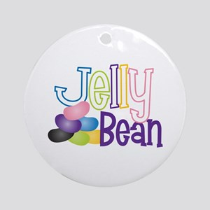 Jelly Bean Ornament (Round)