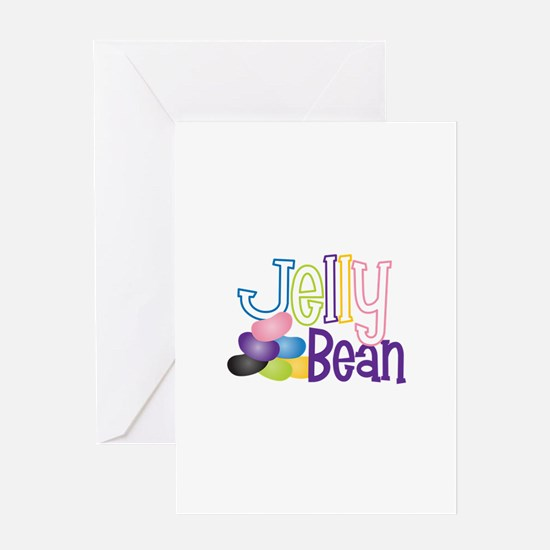 Jelly Bean Greeting Cards