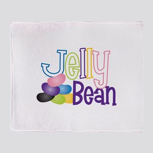 Jelly Bean Throw Blanket