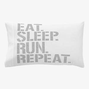Eat Sleep Run Repeat Pillow Case