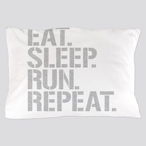 Eat Sleep Run Repeat Pillow Case