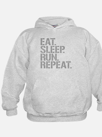 Eat Sleep Run Repeat Hoodie