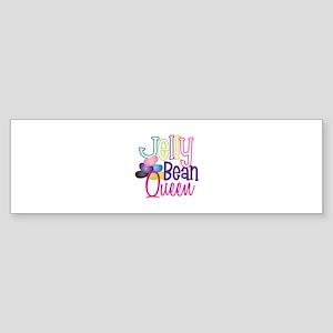 Jelly Bean Queen Bumper Sticker