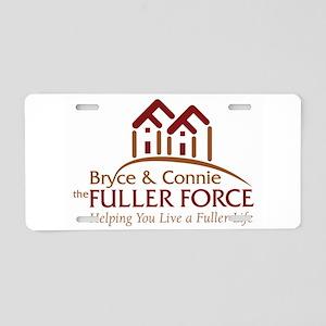 Fuller Force Logo Aluminum License Plate