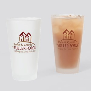 Fuller Force Logo Drinking Glass