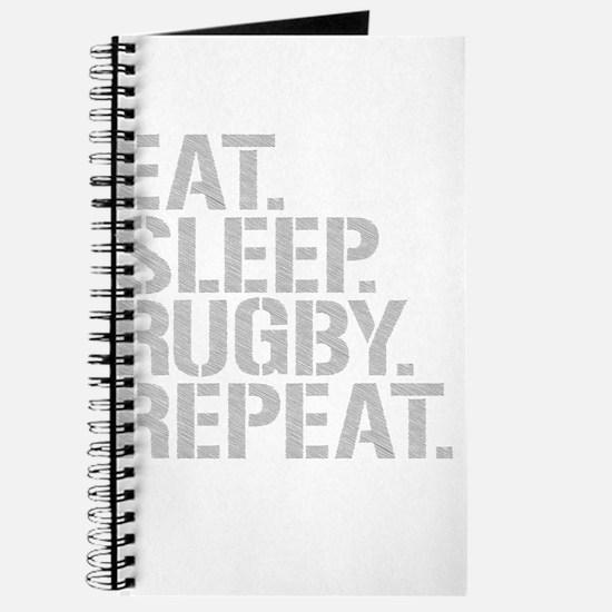 Eat Sleep Rugby Repeat Journal