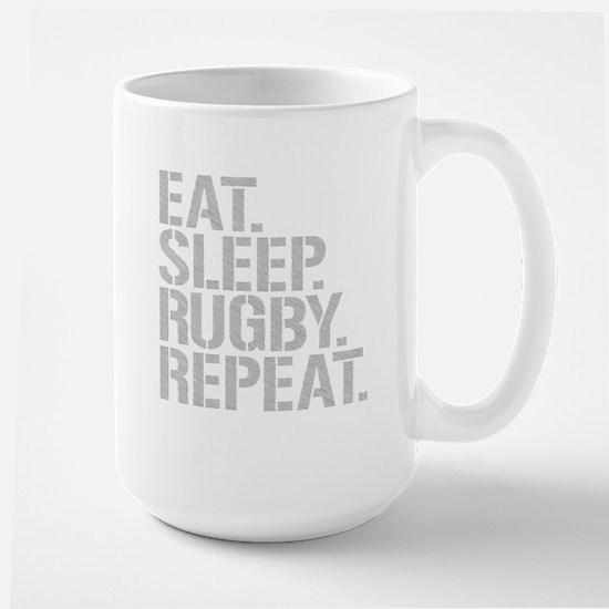 Eat Sleep Rugby Repeat Mugs