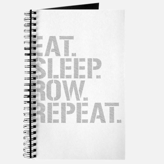 Eat Sleep Row Repeat Journal
