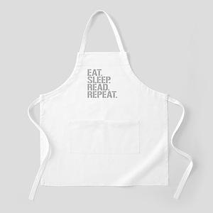 Eat Sleep Read Repeat Apron