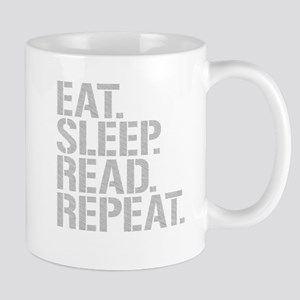 Eat Sleep Read Repeat Mugs