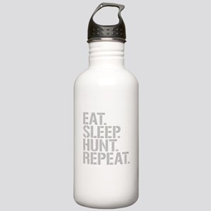 Eat Sleep Hunt Repeat Water Bottle