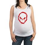 Doombxny Spray Stencil Maternity Tank Top