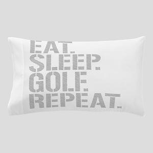 Eat Sleep Golf Repeat Pillow Case