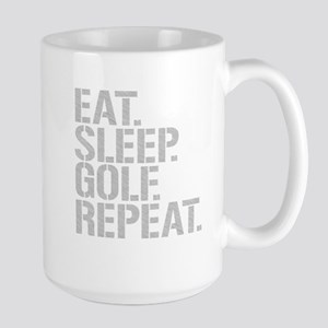 Eat Sleep Golf Repeat Mugs