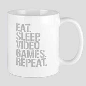Eat Sleep Video Games Repeat Mugs