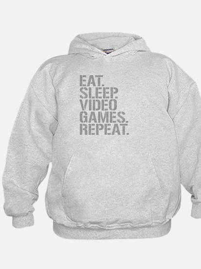 Eat Sleep Video Games Repeat Hoodie