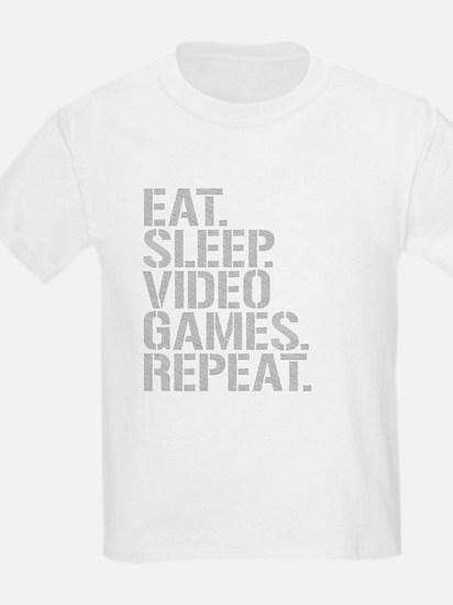 Eat Sleep Video Games Repeat T-Shirt