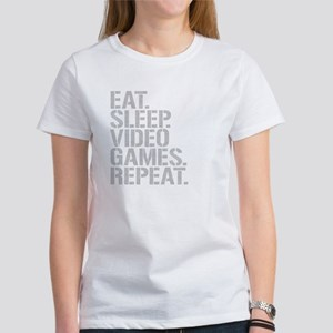 Eat Sleep Video Games Repeat T-Shirt