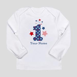 Firecracker 1st Birthda Long Sleeve Infant T-Shirt