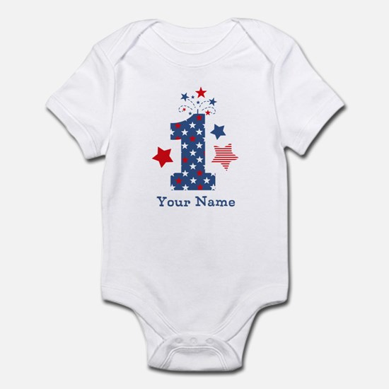 Firecracker 1st Birthday Infant Bodysuit