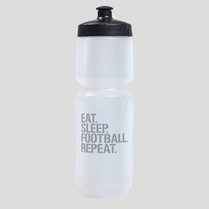 Eat Sleep Football Repeat Sports Bottle
