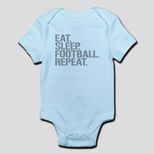 Eat Sleep Football Repeat Body Suit