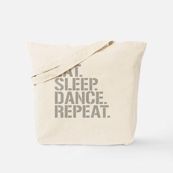 Eat Sleep Dance Repeat Tote Bag
