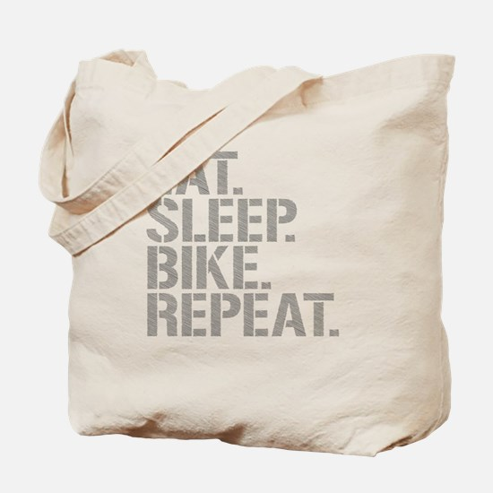 Eat Sleep Bike Repeat Tote Bag