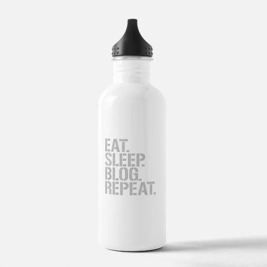 Eat Sleep Blog Repeat Water Bottle