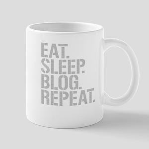 Eat Sleep Blog Repeat Mugs