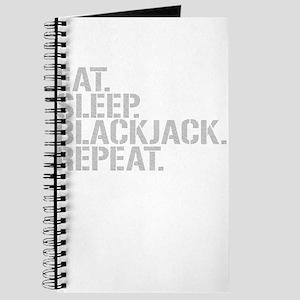 Eat Sleep Blackjack Repeat Journal