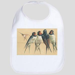 Birds-on-a-wire Bib