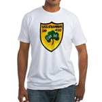 USS O'BANNON Fitted T-Shirt