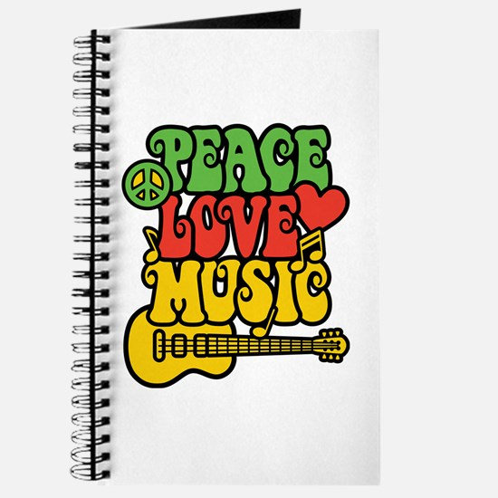 Peace-Love-Music Journal