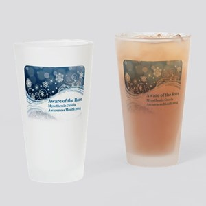 MG Awareness Month Drinking Glass