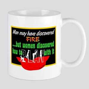 Play With Fire-Candace Bushnell Mugs