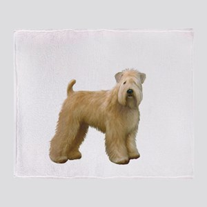 Wheaten T (stand) Throw Blanket