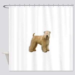 Wheaten T (stand) Shower Curtain